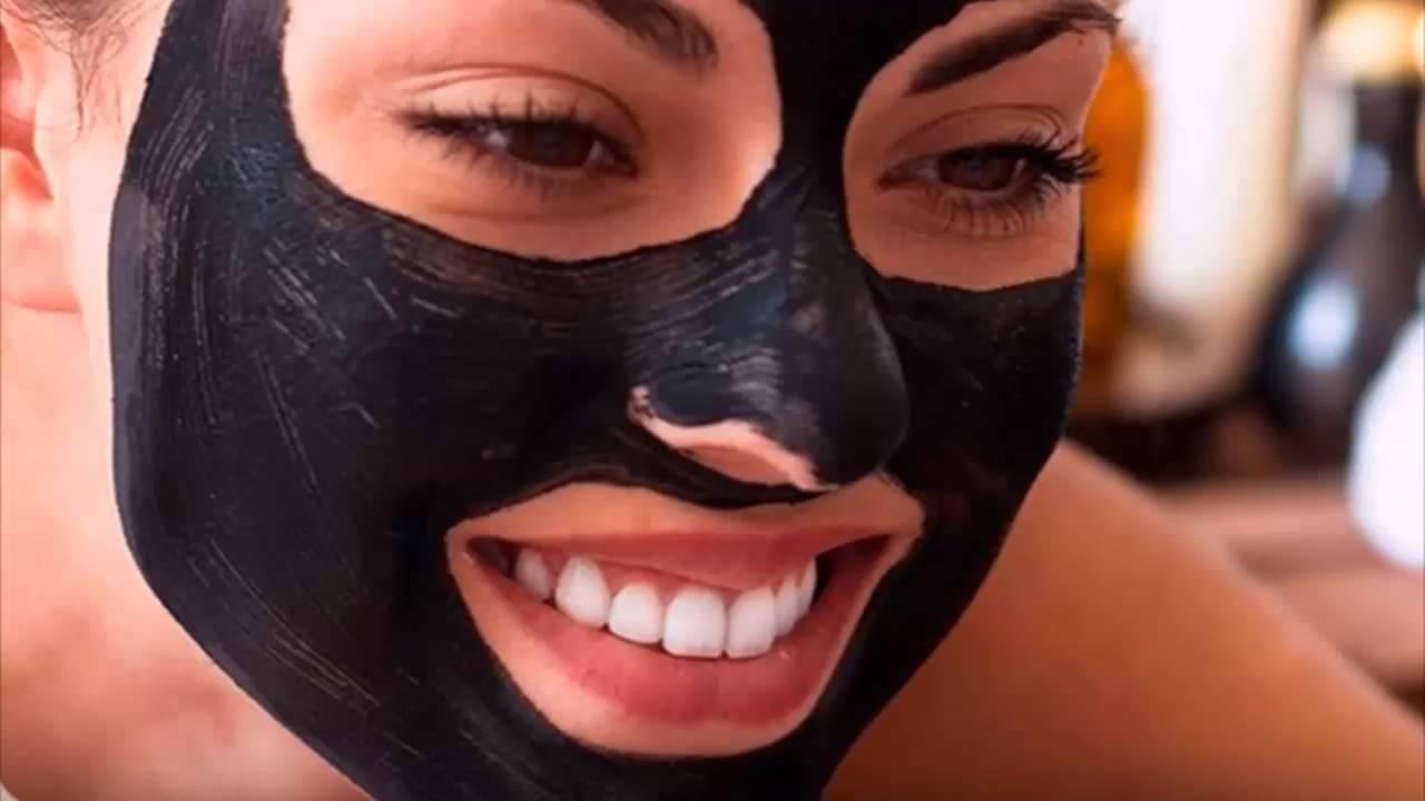 Черная маска из желатина для лица в домашних условиях от черных